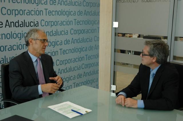 Entrevista a Elías Atienza director general de la Corporación Tecnológica de Andalucía