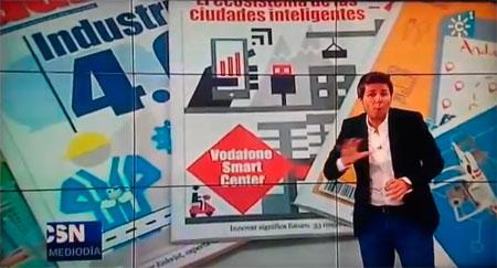 XX Aniversario de la revista Agenda de la Empresa en Canal Sur TV