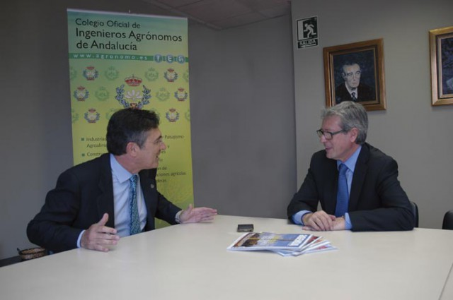Entrevista a Jerónimo Cejudo Galán, decano del Colegio de Ingenieros Agrónomos de Andalucía
