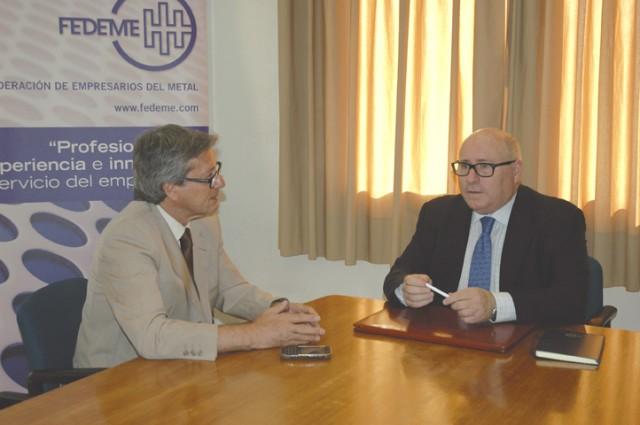 Entrevista  a Francisco Moreno Muruve presidente de FEDEME