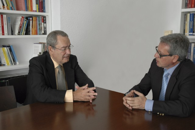 Entrevista a Francisco Moreno, presidente de la patronal minera andaluza Aminer