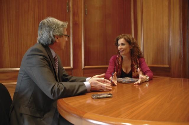 Entrevista a María Jesús Montero, consejera de Hacienda y Administración Pública