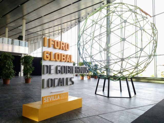I FORO GLOBAL DE GOBIERNOS LOCALES: DESTINO SEVILLA
