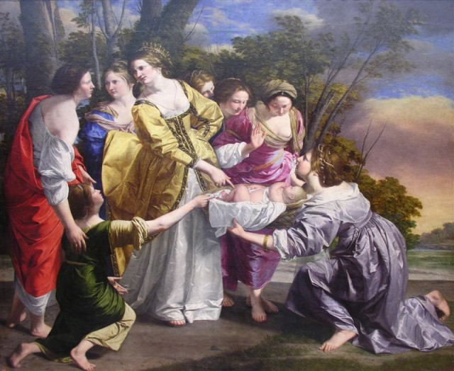 ¿Qué pintó Gentileschi?