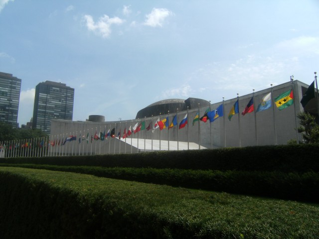 Visita a la ONU
