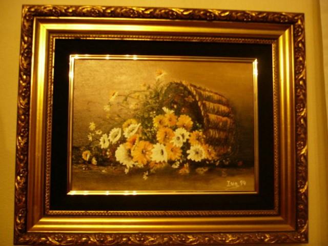 Un cesto de flores