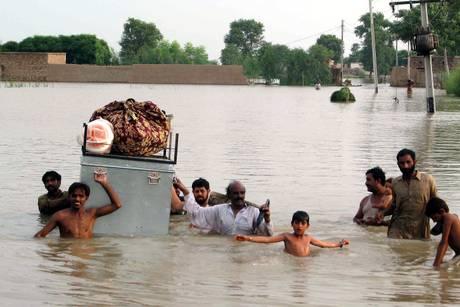 Pakistán, 10 millones de niños afectados