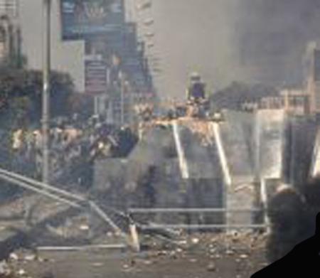 Caos y estado de emergencia en Egipto