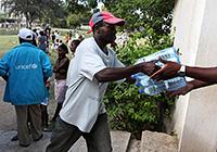 UNICEF suministra agua a más de 140.000 personas en Puerto Príncipe