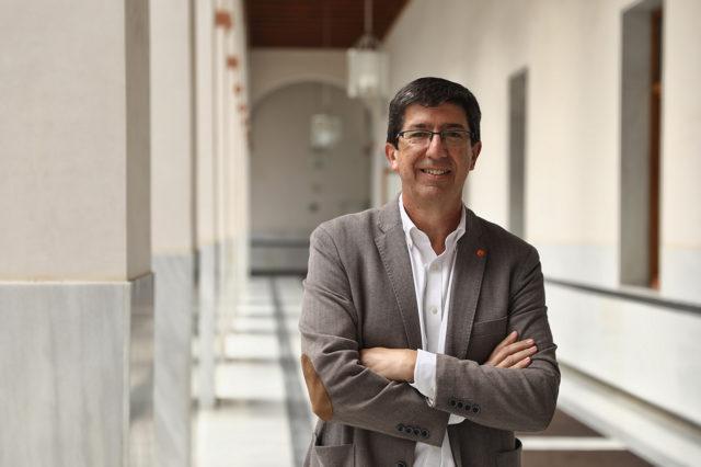 Entrevista a Juan Marín LozanoVicepresidente y Consejero de Turismo, Regeneración, Justicia y Administración Local de la Junta de Andalucía