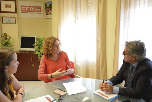 Entrevista a Nuria López, nueva secretaria general de CCOO Andalucía