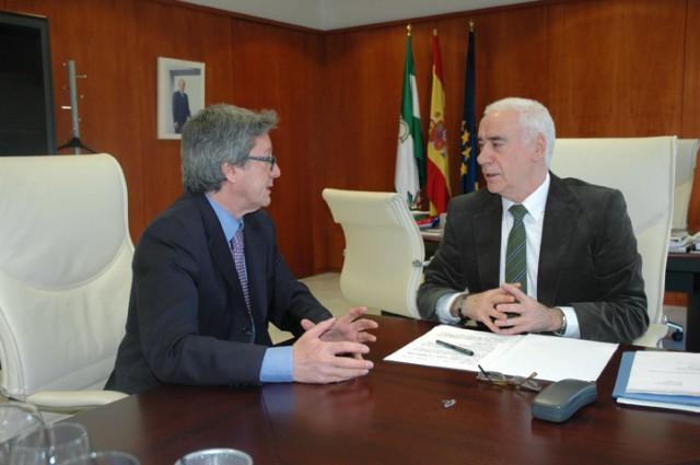 Entrevista a Luciano Alonso, consejero de Educación, Cultura y Deporte de la Junta de Andalucía