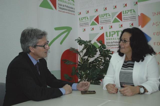 Entrevista a Inés Mazuela Secretaria general de UPTA Andalucía