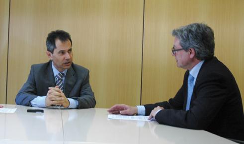 Entrevista a Antonio Fernández, director territorial de la Región Sur de Vodafone España