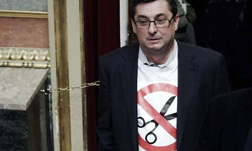 """Camisetas, carteles  y """"numeritos"""". ¡Qué forma extraña de entender el debate político!"""