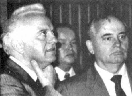 Eduard Shevardnadze y la Perestroika rusa