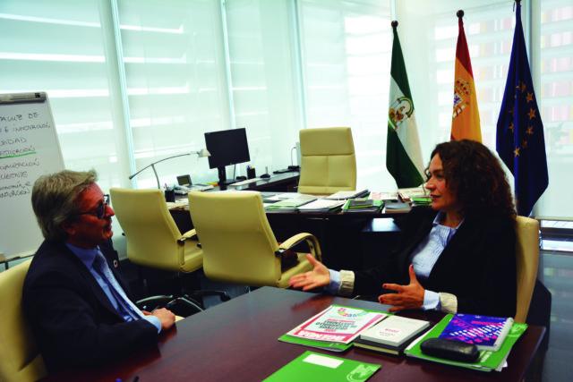 Entrevista a Lina Gálvez Muñoz  consejera de Conocimiento, Investigación y Universidad